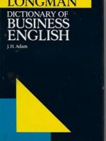 LONGMAN: Dictionary of business English